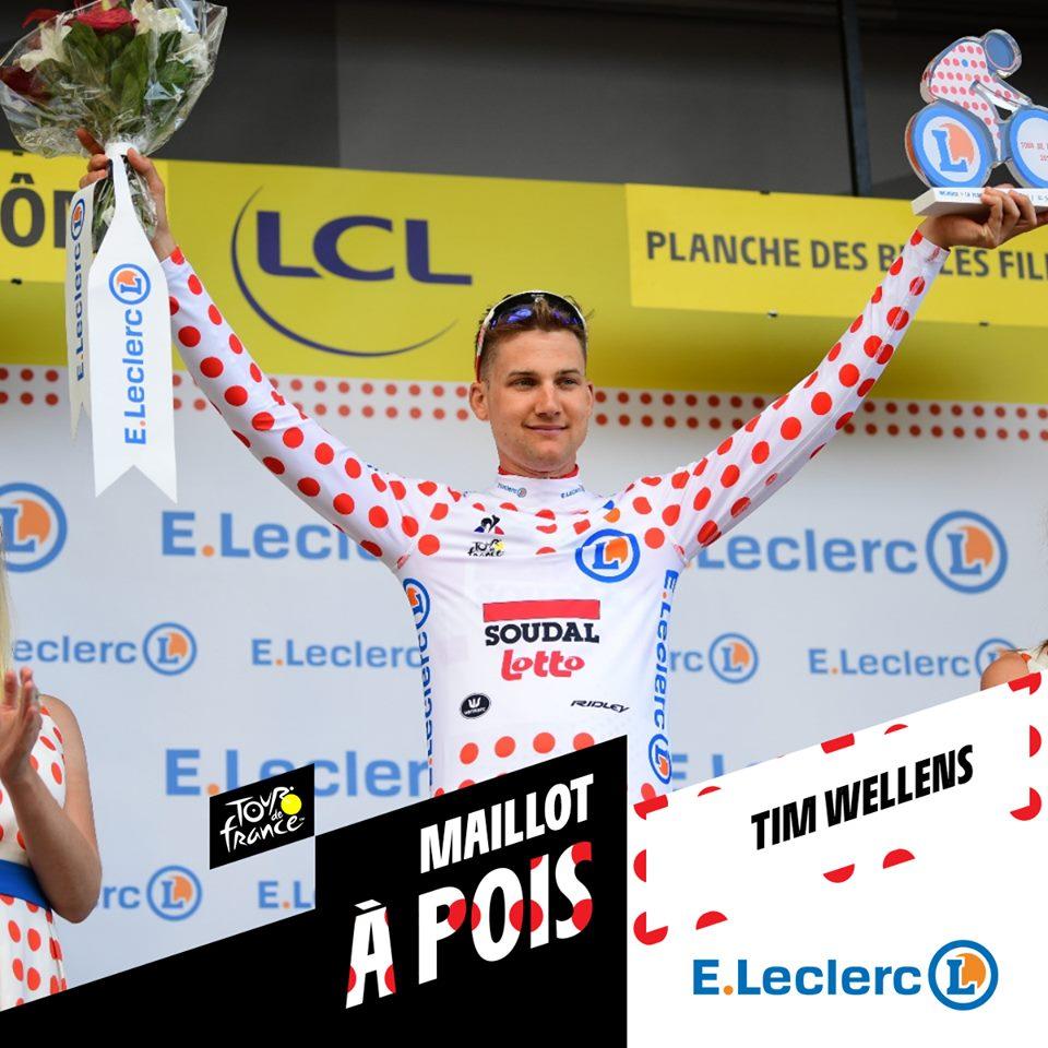 Tour de Francia Maillot Lunares